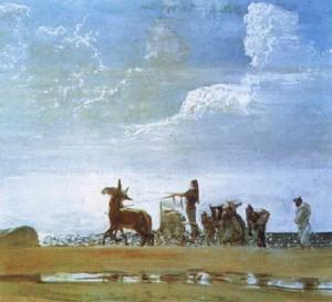 Валентин Серов. Одиссей и Навзикая  1910 г.
