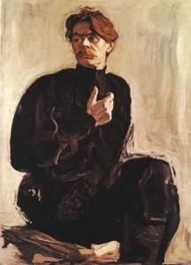 Портрет А.М.Горького, 1905 г.