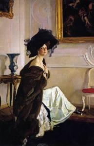 Портрет княгини Ольги Орловой. 1911. ГРМ