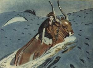 Похищение Европы, 1910