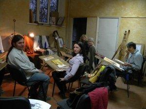 Занятие студии на в помещении на улице Пушкина, 55