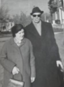 Эдуард Линдер с женой Лидией Григорьевной Доброволской