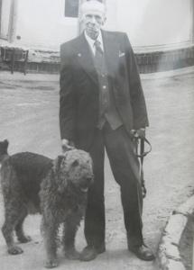 Эдуард Линдер с собакой