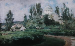 Валентин Серов. Михайловка. Этюд. 1890-е годы
