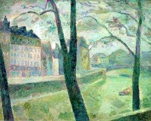 Париж. Сена 1936 г. Холст, масло. 63 x 80.5 см Частная коллекция