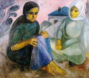 Роберт Фальк Конотопские девушки 1912 г.