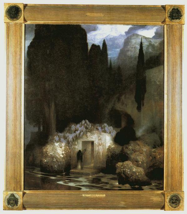Фердинанд_Келлер_Могила_Беклина_1901-1902
